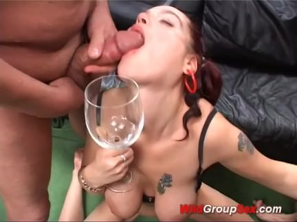 flexi girl in extreme anal gangbang