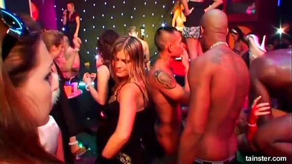 Sinfully pornstars fucking hard at casino party
